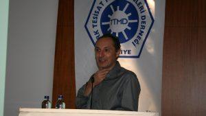 Vektör Mühendislik kurucu ortağı Eray Aydın Ttmd'de